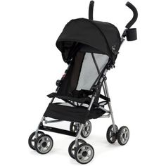 Kolcraft Cloud Umbrella Stroller, Black $26