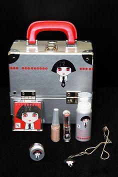 Karl  Lagerfelds Shu Uemura Makeup Collection(via google)
