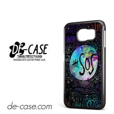 5 Seconds Of Summer 5sos Quote Galaxy DEAL-71 Samsung Phonecase Cover For Samsung Galaxy S6 / S6 Edge / S6 Edge Plus