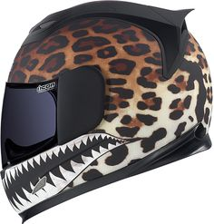 Airframe Sauvetage™ Helmet--as much as I didn't like the fit of Icon helmets, I think this is so badass....
