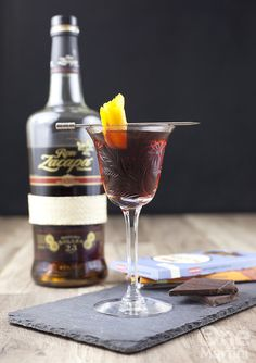 King's Special is a delicious after dinner sipper with rum, campari and coffee liqueur. Cocktail Glass, Cocktail Drinks, Cocktail Recipes, Alcoholic Drinks, Beverages, Drink Recipes, Campari Cocktails, Party Drinks, Rum