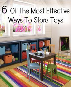 6 of the most effective ways to store toys