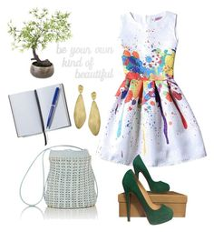 """""""Creative style"""" by marhay-ini on Polyvore featuring PBteen, Christian Louboutin, Paco Rabanne, Sia, Marco Bicego and Smythson"""