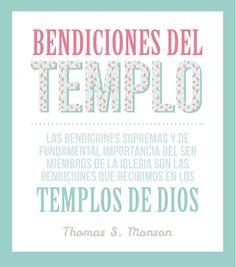 Bendiciones del templo