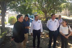 En reunión con el rector de la UMSNH, Medardo Serna, el alcalde Salvador Ruiz informó que su administración se hará cargo de la inversión en infraestructura – Múgica, Michoacán, 02 ...