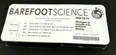 Barefoot Science Foot Full 5 Step Insole Arch Support Mens L 10 to 11.5 or W 12 #BarefootScience