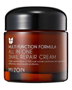 A team of former scientists and researchers from some of Korea's top beauty brands are behind Mizon and the All-in-One Snail Repair cream is a Peach and Lily bestseller. The cream uses 92% snail extract to hydrate, reduce the appearance of lines, and combat blemishes. The cream is gentle enough to work on all skin types and is even great to use on your arms or back if you are prone to breakouts in those areas.    Mizon All-in-One Snail Repair Cream ($38)