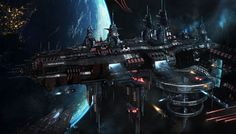 Sudden Crisis Ellis Prime Station by Shue13