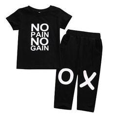 No Pain No Gain Outfit