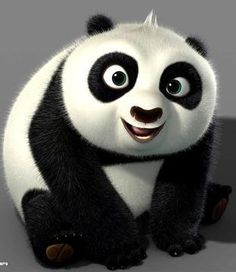 Cutest Panda EVER Baby Po From Kung Fu 2