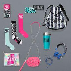 #MorePINKPlease I want those socks Annnd I'll take the cute bag too