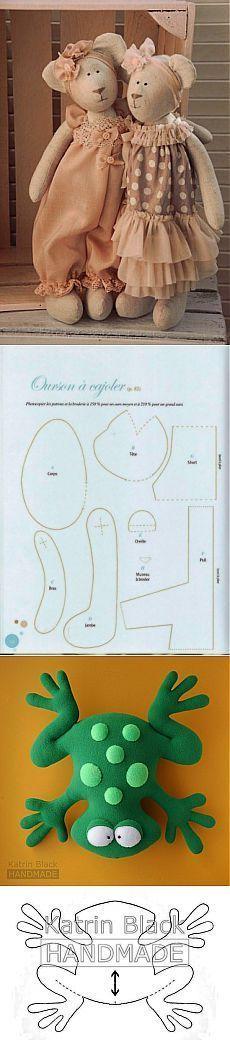 JUGUETES.  PARTE 4 / Toy Mundial / Tilda.  Clases magistrales, los patrones.