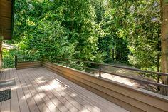 Large composite deck off Kitchen to enjoy summer BBQ's!