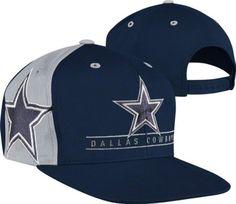 Dallas Cowboys Navy The Bar Snapback Adjustable Hat