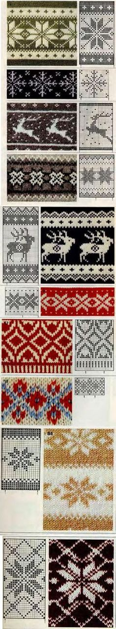 Winter patterns for knitting Knitting Patterns, Crochet Patterns, Norwegian Knitting, Knitting Socks, Knit Crochet, Cross Stitch, Arts And Crafts, Chart, Sewing