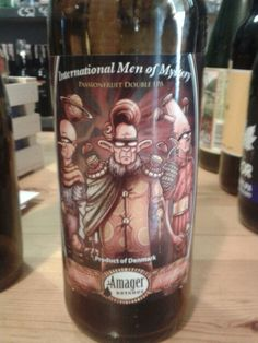 International Men of Mistery, Amager, passion fruit ipa, Denmark