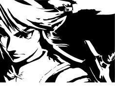 Link Stencil by Branbot