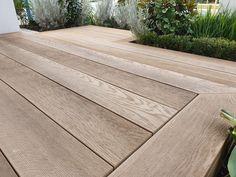 Bamboo Decking, Decking Area, Outdoor Paving, Outdoor Flooring, Back Gardens, Outdoor Gardens, Decks Around Pools, Patio Seating, Seating Areas