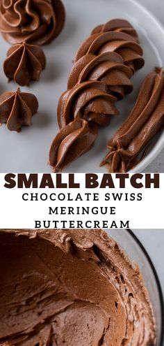 If you love baking and adore chocolate, this fail-proof small-batch chocolate Swiss meringue buttercream is the frosting you've always needed! It is smooth, silky, lightly sweetened, and packed with all the chocolate flavors your heart desires. It is made with a handful of ingredients to yield the best small-batch Swiss meringue buttercream frosting ever. Perfect for small cakes, cookies, cupcakes, and much more! Chocolate Brownies, Chocolate Flavors, Chocolate Desserts, Melting Chocolate, Chocolate Chip Cookies, Chocolate Swiss Meringue Buttercream, Chocolate Frosting, Buttercream Frosting, Poke Cakes