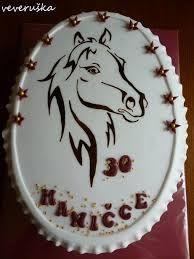 Výsledek obrázku pro dort kůň