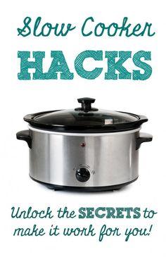 Unlock the Secrets: Slow Cooker Hacks #slowcooker