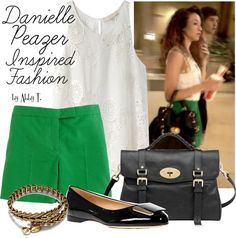 """Danielle Peazer inspired fashion"" by abbytamase on Polyvore"