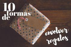 10 formas increíbles de envolver regalos