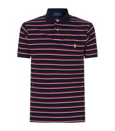 Polo Ralph Lauren Striped Logo Polo Shirt available to buy at Harrods.Shop clothing online and earn Rewards points.