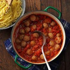 Spaghetti Meatball Supper