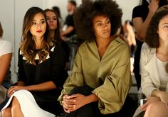 Solange Knowles Photos - Karigam - Front Row - Spring 2016 New York Fashion Week: The Shows - Zimbio