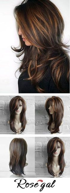 hair style girl short hairstyles for round faces haircuts for women long hair men prom hairstyles updos hairstyles for medium length hair hair round face 50 Amazing Long Hairstyles & Cuts 2020 - Easy Layered Long Hairstyles Short Hair Styles For Round Faces, Hairstyles For Round Faces, Cool Hairstyles, Wedding Hairstyles, Hair Styles Long Layers, Long Hair Short Layers, Long Layered Haircuts Straight, Hairstyles 2016, Haircuts For Long Hair With Layers