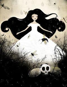 """Out of the Shadows"", Anne-Julie Aubry, www.annejulie-art.com"