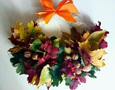 #wianek #stroik #autum #jesień #colorful