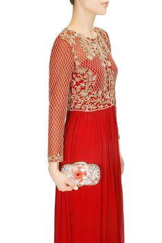 Robe rouge zarah