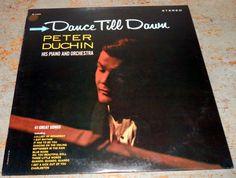 Vintage Vinyl Album Peter Duchin Dance Till Dawn by TheBackShak, $10.00