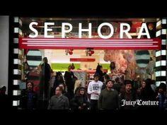 """Elizabeth Arden & Juicy Couture """"La Fleur"""" en Sephora Gran Vía, Madrid."""