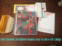 Erin Condren Life Planner Review 2014 How I use it for college Great advice for anyone looking to purchase the 2014 life planner!