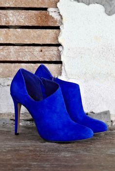 Electric Blue Bootie <3 L.O.V.E.