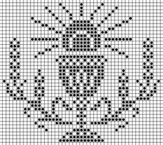 38447006 Christmas Embroidery Patterns, Folk Embroidery, Cross Stitch Embroidery, Cross Stitch Borders, Cross Stitch Patterns, Crochet Patterns, Faith Crafts, Fillet Crochet, Cross Stitch Pictures