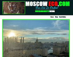 """Progress on #Russia #Eco site Moscow Eco.Com """"Our Eco In Order!"""" 🎯⚖️💲♻️🌏🐅💚🔌🚗🔋🤔👍 #THENEWECONOMY Sustainable Tourism, Moscow, Ecommerce, Sustainability, Russia, Investing, Environment, Fun, E Commerce"""