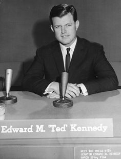 """*CHAPPAQUIDDICK INCIDENT:July 18,1969,MaryJoKopechne,a female passenger of U.S.SenatorEdward M.""""Ted""""Kennedy,was killed when he accidentally drove his car off a bridge +into a tidal channel on Chappaquiddick Island, Massachusetts.He swam free+lt the scene,not reporting /in 9hrs, Kopechne died in the vehicle.In the early hrs ofJuly19,Kopechne's body+ the car were recovered.Kennedy pleaded guilty to a chrg of leaving the scene of an accident after causing injury+rec'd a2mo suspended jail sentence. Les Kennedy, John Kennedy Jr, Senator Kennedy, Standards Quotes, John Junior, John Fitzgerald, Irish American, Family Images, Irish Men"""