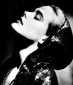 Margaux Hemingway by George Hurrell, 1976.