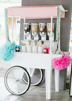 Ice Cream Cart Display!