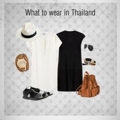 Understanding what to wear in South-East Asia is important. Packing for South East Asia is no joke. Find out here what to wear and what to expect., What to wear in Thailand.