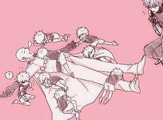 Pow Kids Saitama x Genos Family