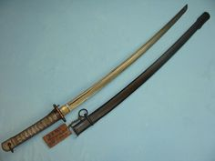 japanese army ww2 | Katana WWII Japanese military sword with surrender tag www ...
