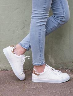 SPOR AYAKKABI Gabby Beyaz Rose Gold Kombin Spor Ayakkabı