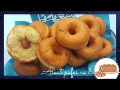 Gogosi pufoase si moi, din aluat asemanator cu cel de cozonac - YouTube Lidl, Doughnut, Youtube, Desserts, Food, Sweets, Projects, Diy, Tailgate Desserts