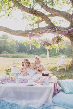 Fairytale tea party | Girls party ideas | 100 Layer Cakelet