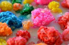 "How to make your own ""rocks"", ""crystals"", and ""gems"" sensory activity too!"